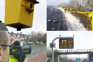Different types of speed camera