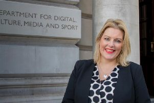 Loneliness Minister Mims Davies. Picture: The Department for Digital, Culture, Media and Sport.