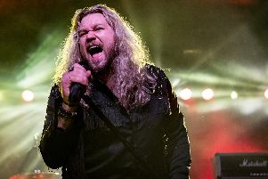 Inglorious frontman Nathan James evokes comparisons with 1970s rock icons like David Coverdale of Whitesnake. All pics: Mick Burgess.