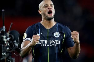 Vincent Kompany has committed his future to Manchester City