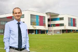 Mark Cottingham, principle of Shirebrook Academy