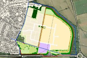 The proposed area in Edenthorpe