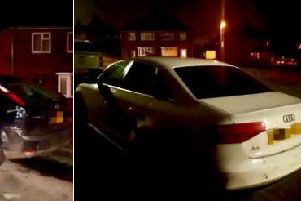 Police sniffed out stolen cars