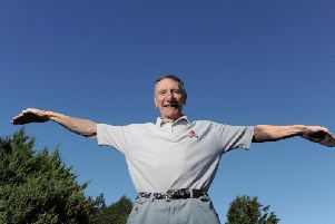 Cedric Sharp, 81, will be taking part in a wing walk for charity.