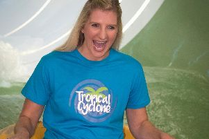 Becky on the Tropical Cyclone.