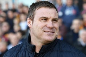 Mansfield's manager David Flitcroft.