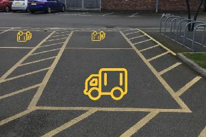 Should there be more parking spaces specifically for vans?