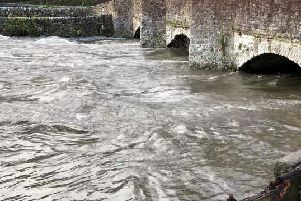 The River Wye at Ashford-in-the-Water.