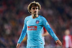 Antoine Griezmann of Atletico Madrid  (Photo by Juan Manuel Serrano Arce/Getty Images)