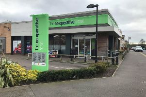 Co-op onSkegby Road, Annesley Woodhouse.