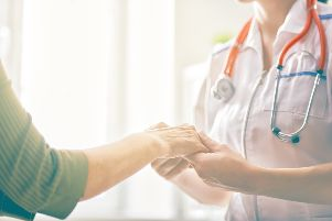 The work of volunteers is crucial in supporting hospital doctors and nurses.