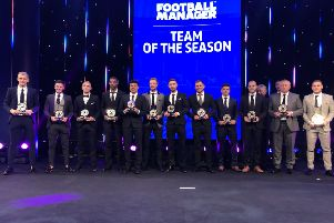 Krystian Pearce in the EFL Team of the Year line-up