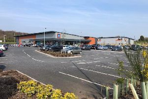 The restaurant would be built on landbetween Aldi and MKM builders merchant on Oakleaf Close, off Southwell Road West.