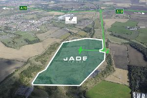 This is where Jade Business Park will be situated