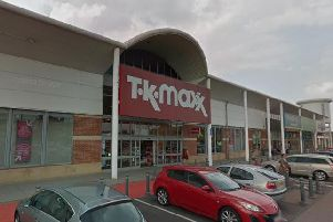 TK Maxx, on St Peter's Retail Park, Mansfield