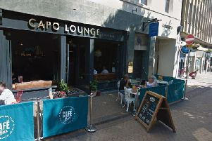 Capo Lounge, on West Gate.