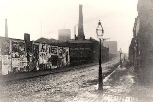 Fletcher Road with Peel Mill to the left where they both worked