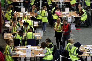 Counting is under way across the UK tonight