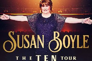 Susan Boyle will perform in Nottingham next year