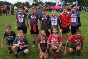Year six pupils at Park House Primary School in Pilsley have been fundraising for Cancer Research and Alex TLC in a tribute to classmate William Downes, who has been diagnosed with adrenoleukodystrophy.