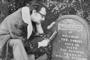 The donkeys gravestone gets a facelift from your My World writer 55 years ago