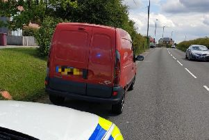 Driver arrested after testing positive for drugs in Pleasley