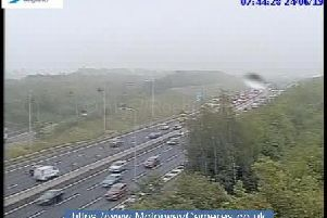 Junction 24 of M1