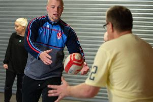 Saints stars lead session for people with learning disabilities