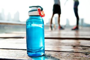 Drink cold drinks regularly during hot weather.