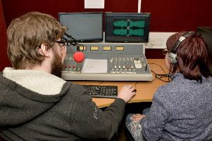A life skills project at Takeover Radio in Sutton.