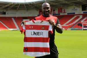 New Doncaster Rovers manager Darren Moore. (Picture: Chris Etchells)
