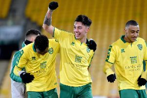 Anthony Spyrou of Norwich City starts up front for Town again tonight (Pic: Nick Butcher/Archant Norfolk)