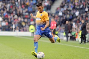Mal Benning was pleased with the work out for Mansfield Town.