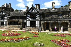 Shibden Hall in Calderdale, the setting for the drama Gentleman Jack