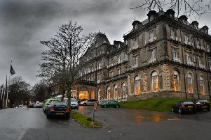 The Palace Hotel, at Buxton.