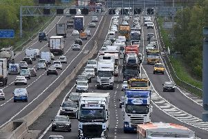 The M1 will be closed near Meadowhall as work gets under way on a 7.5 million upgrade of the motorway.