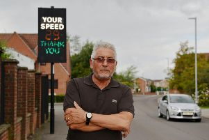 Resident Paul Smith is calling for speed cameras in the Lindrick Road area of Kirkby.