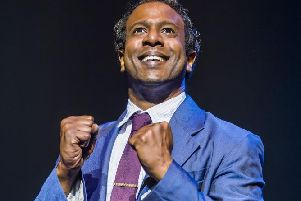 Edward Baruwa as 'Berry Gordy' Motown Musical