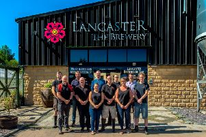 The Lancaster Brewery team.