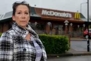 Lorraine McMonagle was charged over 17 for a coffee at Sutton McDonald's.