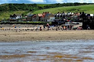Robin has fond childhood memories of holidaying at Sandsend on the Yorkshire coast.