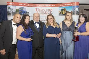 Drivers Direct branch, of Leyland, with MD, Gethin Roberts