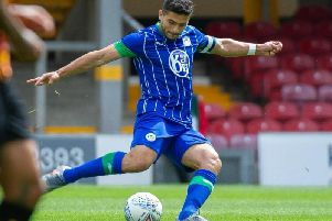 Wigan Athletic skipper Sam Morsy