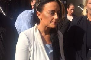 Bethany Marchant spoke about her ordeal outside Leeds Crown Court after Stefan Carr was locked up for more than 11 years for subjecting her to domestic violence.