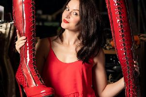 Paula Lane as Lauren in Kinky Boots at the Opera House until October 12