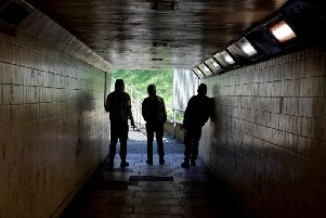 The M6 underpass linking Leyland and Clayton-Le-Woods