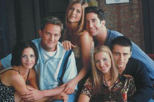 The one where Friends is on the big screen