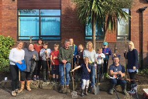 Mawdesley St Peter's CoE Primary School with their tools from Tools Shed.