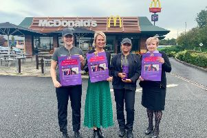 McDonald's is supporting Age Concern's What The Flock campaign