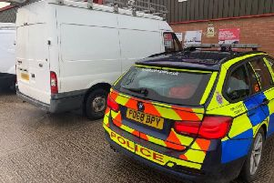Police say thieves are targeting Ford Transit vans across Chorley and South Ribble, including passenger vans, flat beds and tippers